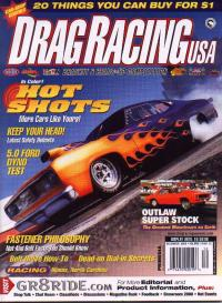 Drag Racing USA Cover